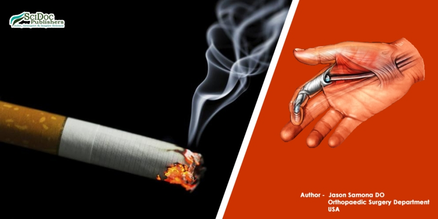 Effects of Smoking on Hand Tendon Repair